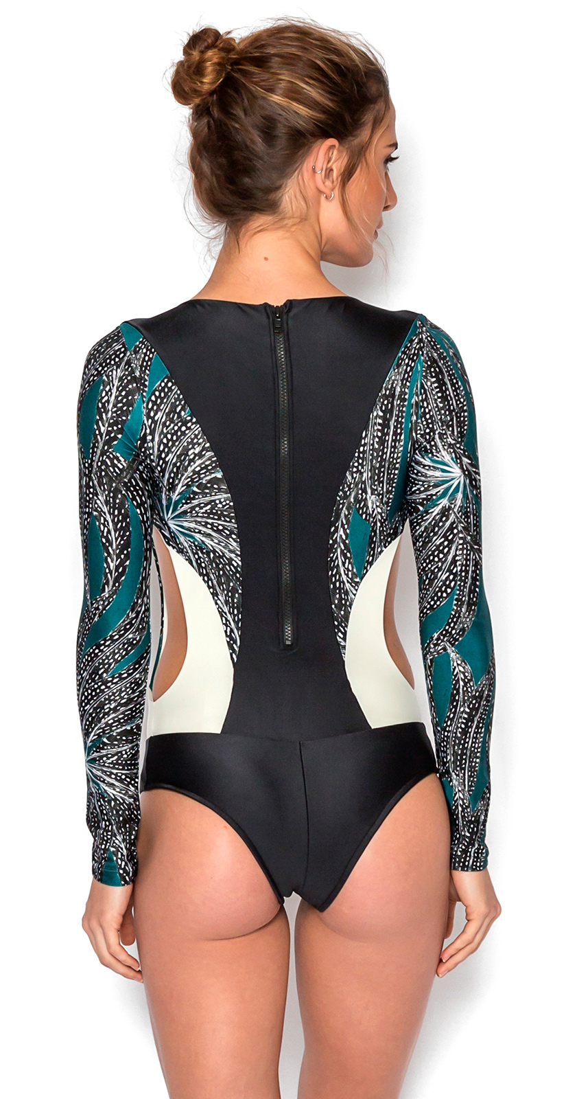 88d6cd42c8 Original Luxurious Long Sleeve Swimsuit - Tara Angola - Woma