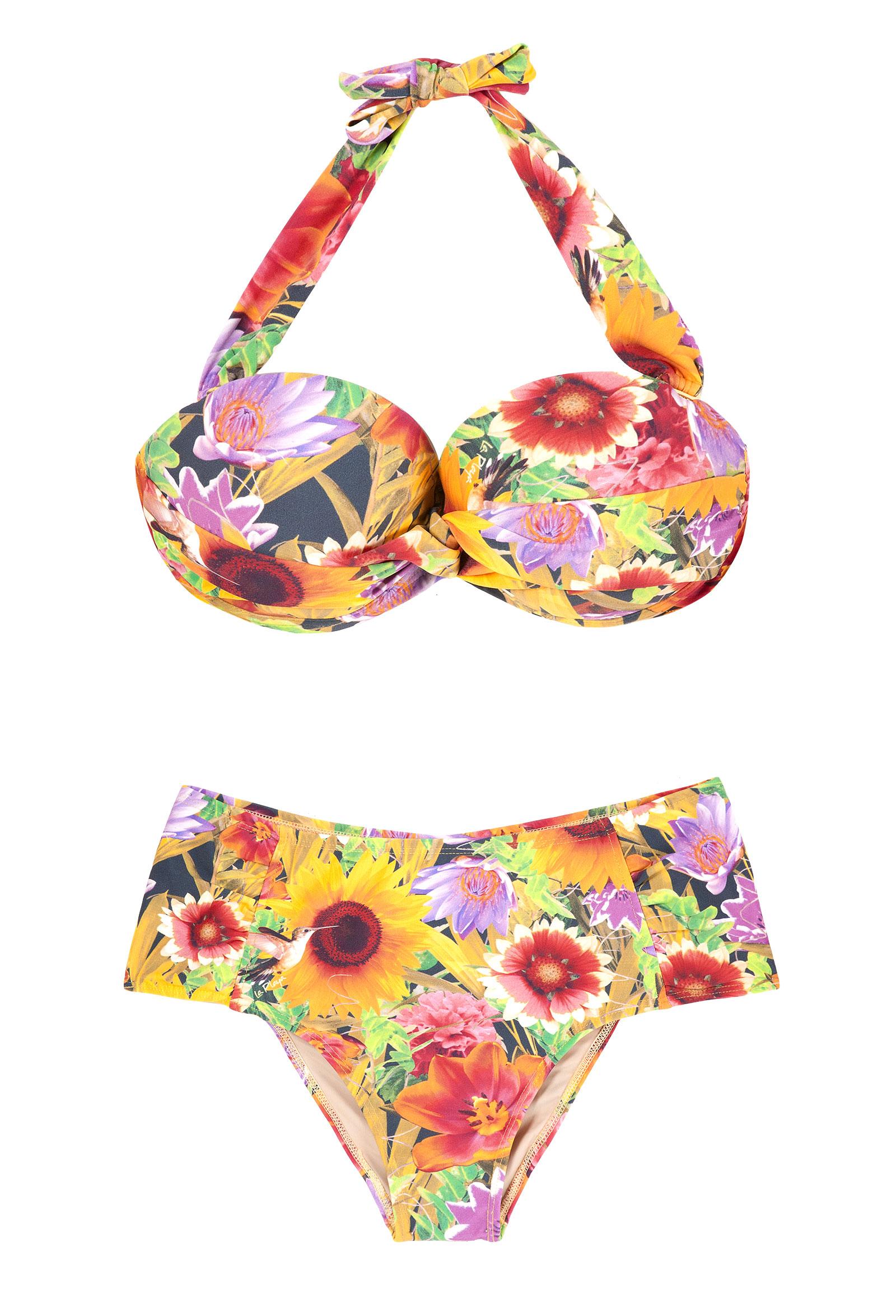 cf3ae6357 Biquini Bikini Plus Size - Plus Girassol - Marca   Grife La Playa