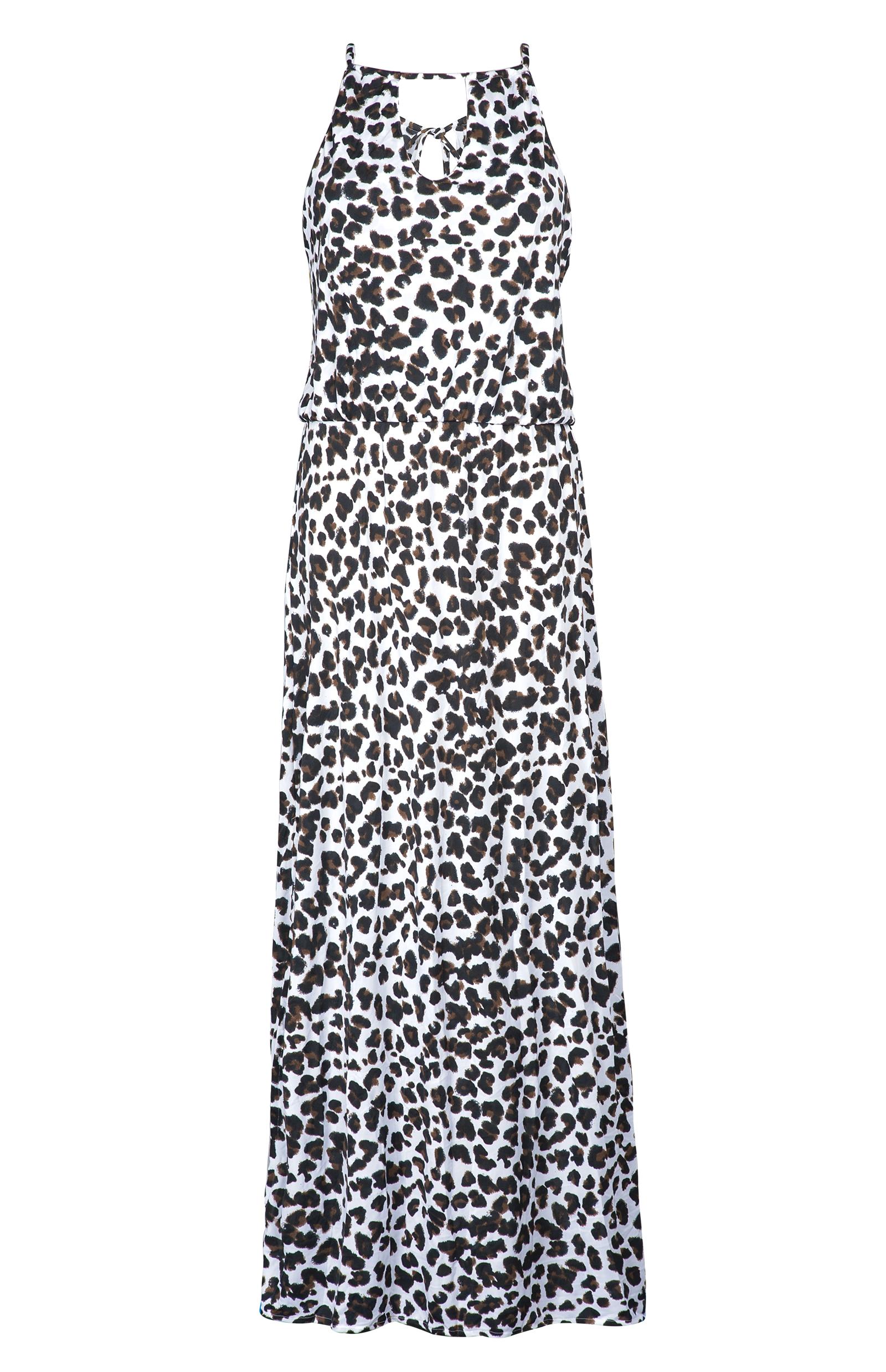 rio de sol robe de plage longue imprim animal panda long. Black Bedroom Furniture Sets. Home Design Ideas