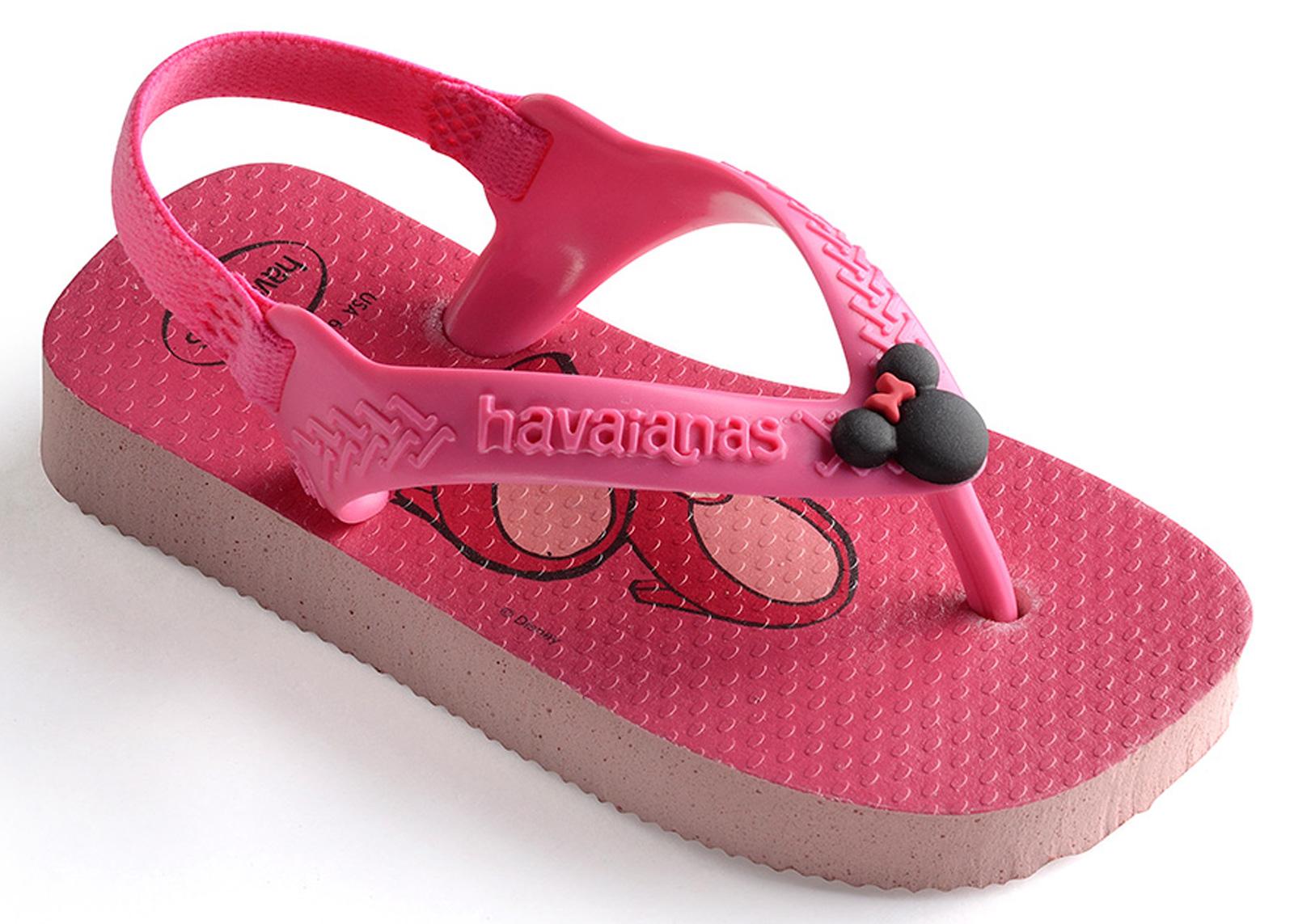 f19bedbea3ea1 Sandals Baby Disney Classics Ii Pearl Pink - Brand Havaianas