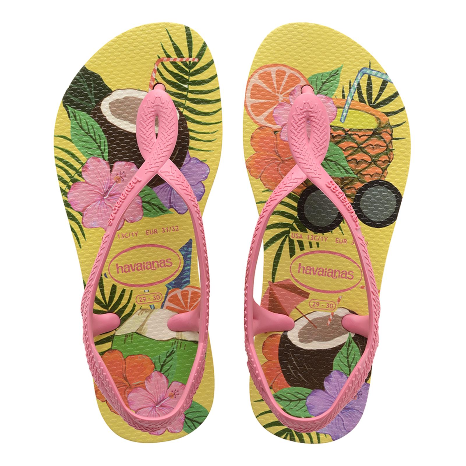 Sandals Havaianas Kids Slim Luna Print