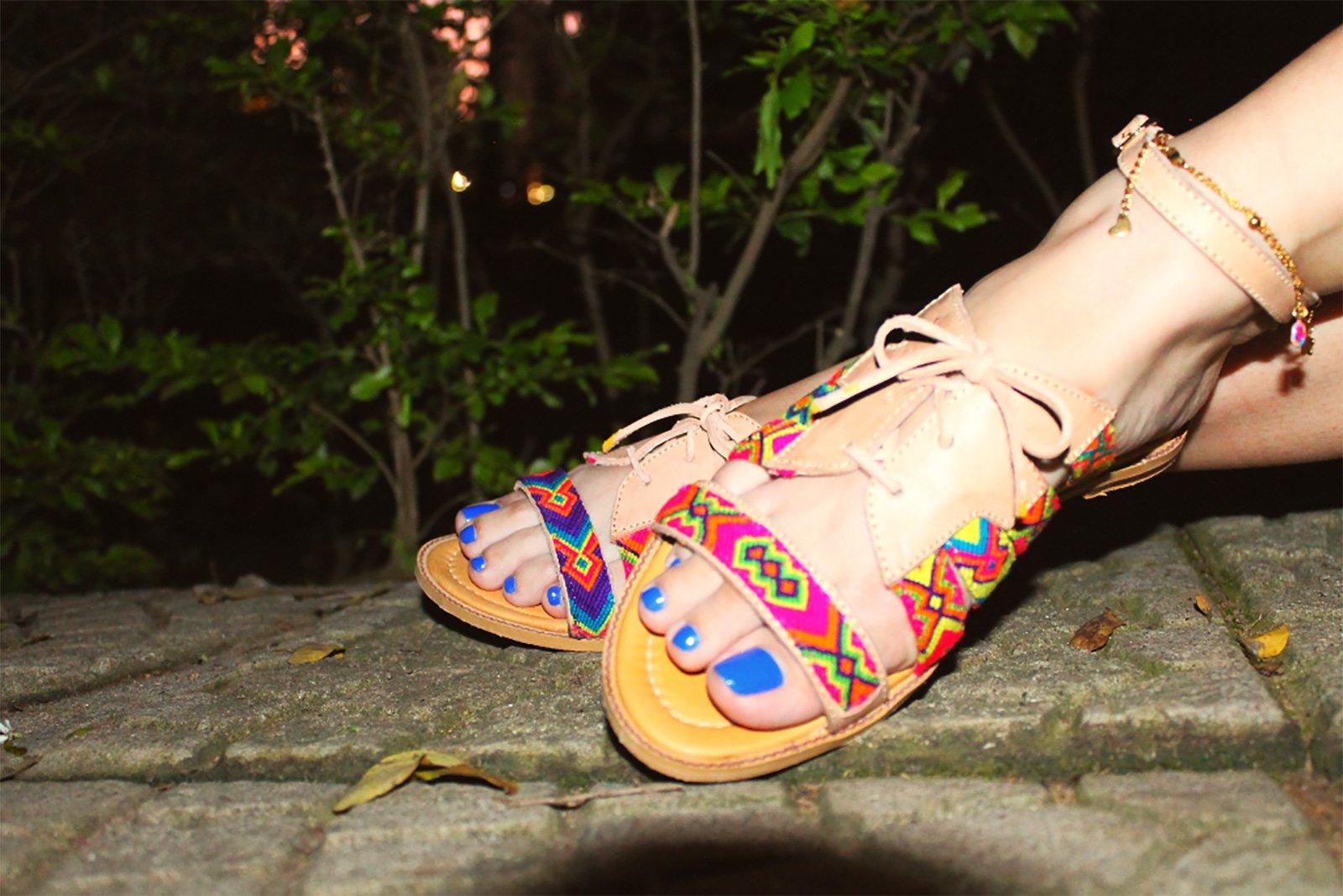 Iwa Sandales Multicolores WayuuCuir Sanbraz Artisanales ZXuPkTlwOi