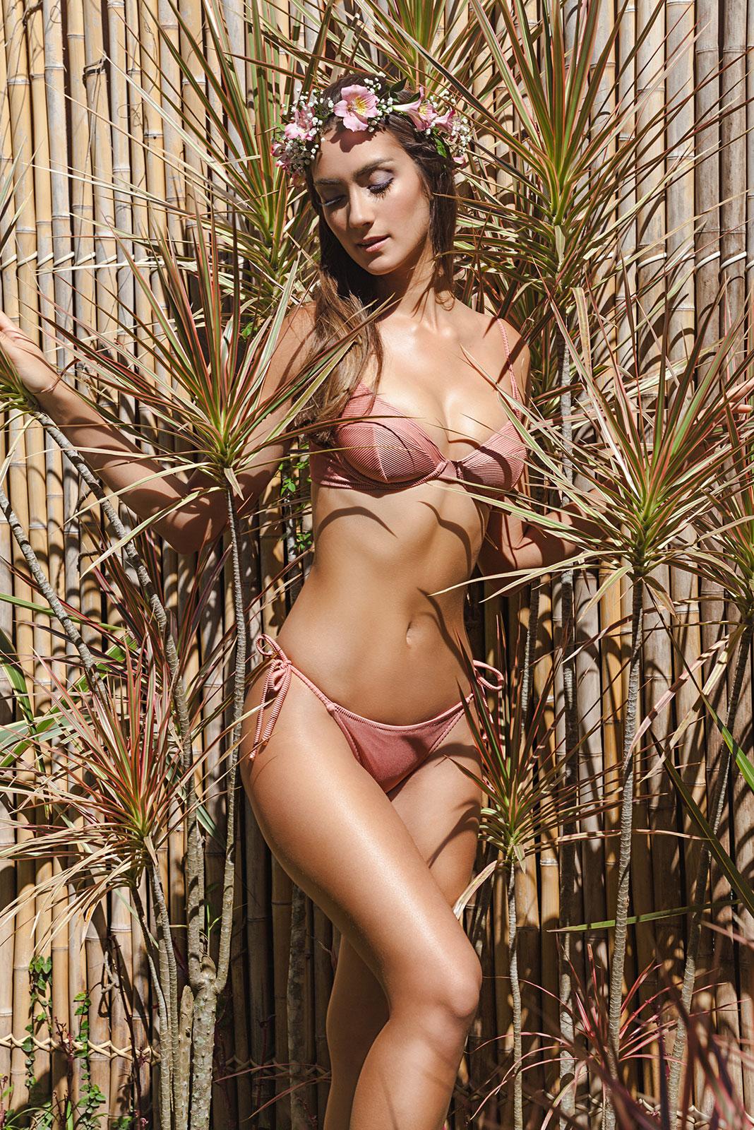 rossi gold bikini Claudia