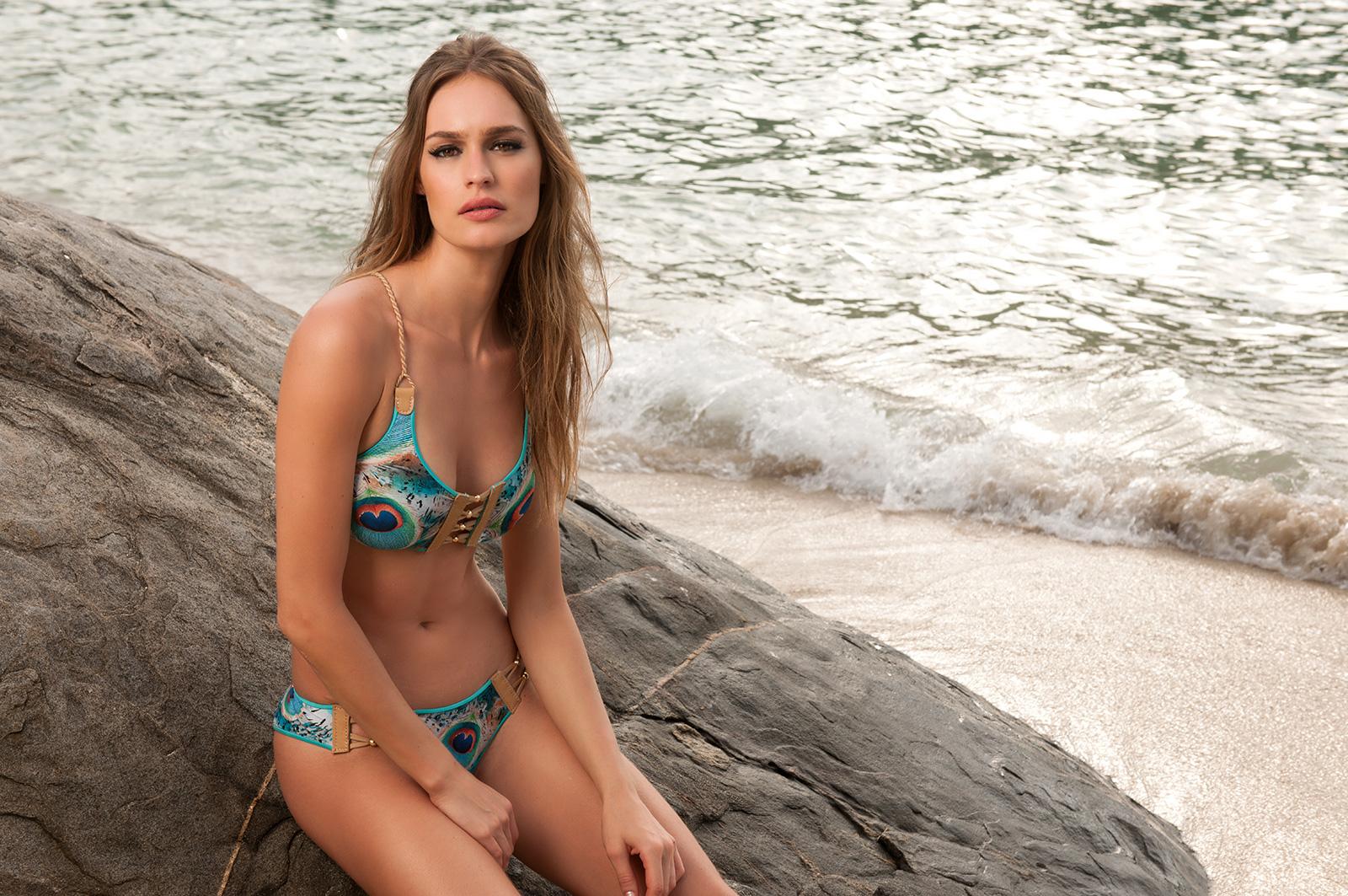 Sports bra style bikini