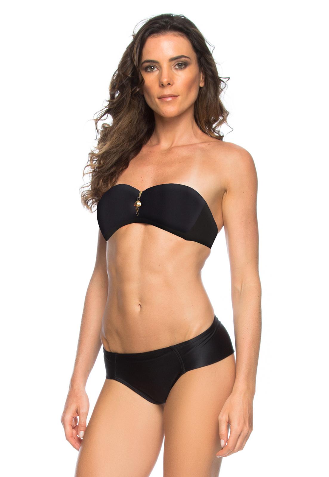 Bikinis Svart Bikini Med Blixtlås - Raquel - Märke Lua Morena 3e02ee7057fa5