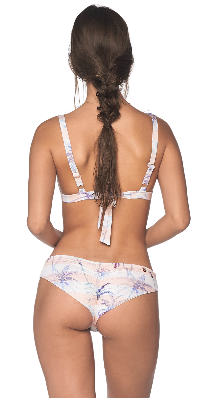 01e6210a8b369 ... Triangle bra bikini in pastel tropical print - SEAMLESS CALI PLAMS ...