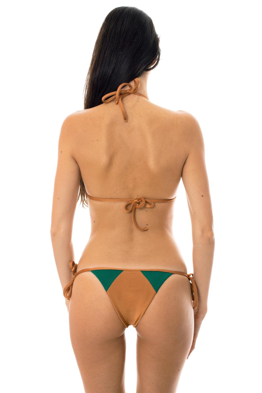 Copper brazillian bikini