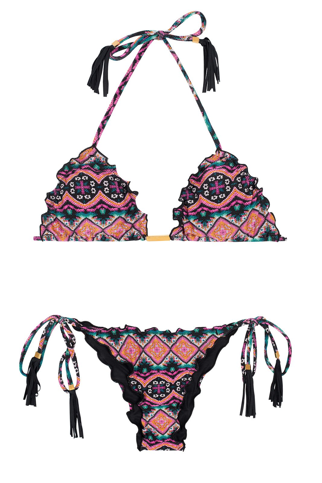 720cbdf4e Bikinis Bikini Scrunch Estampa Etnica - New Ethnic Fru Fru