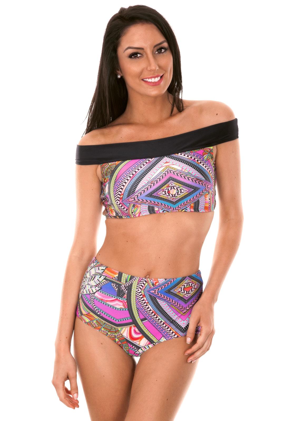 hoog bikini topje