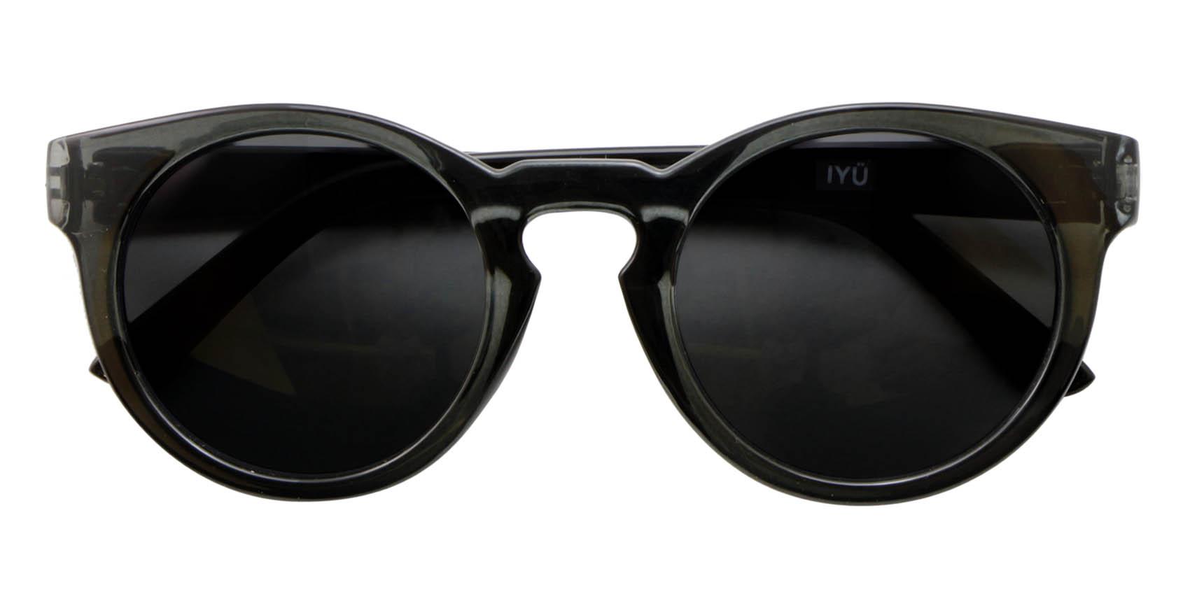 Transparent Black Shoes