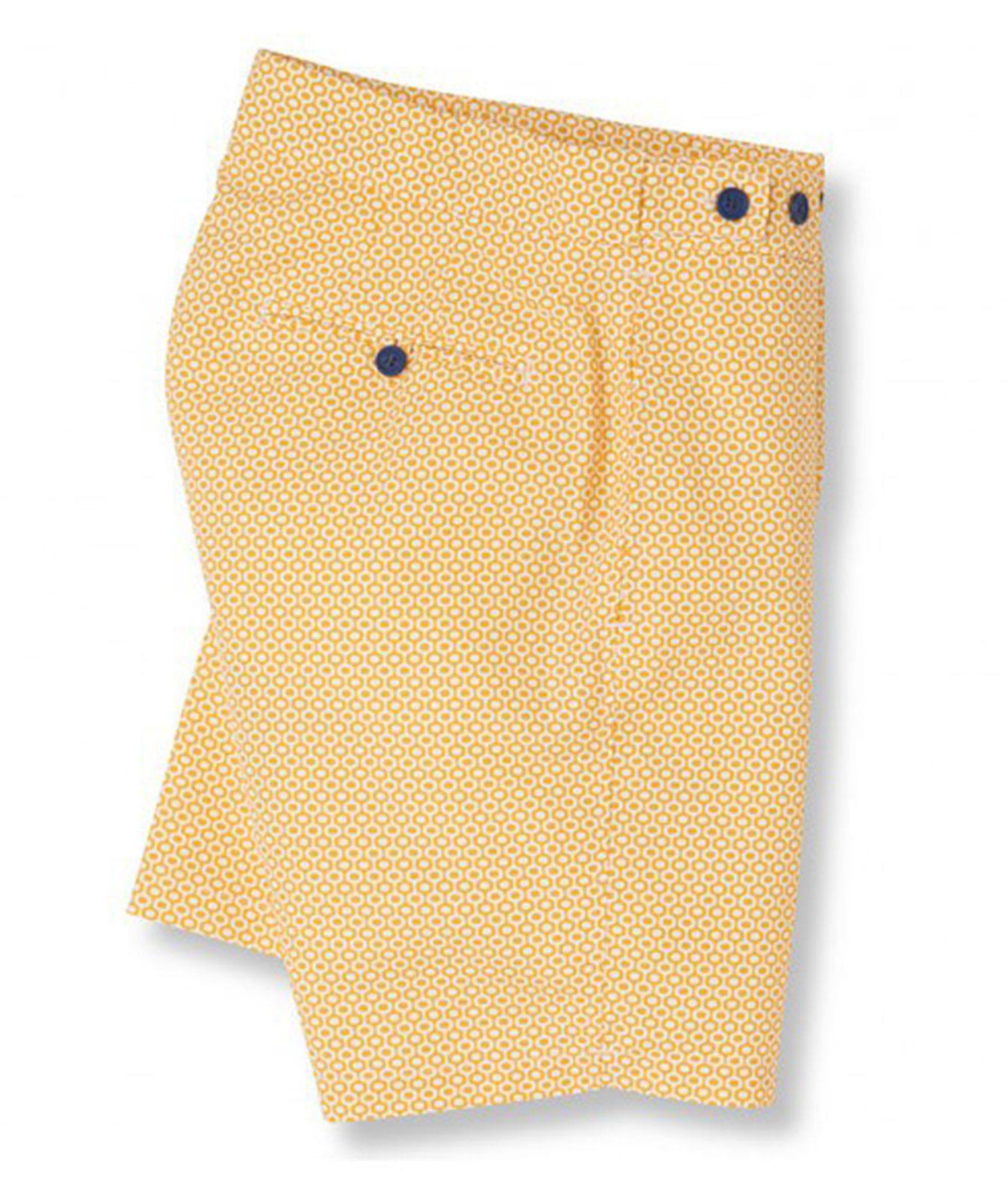 bee5f2eb049b Pantaloncini Da Spiaggia Gialli Con Stampa Grafica Giallo   Arancio -  Ipanema Tailored Long Sunflower