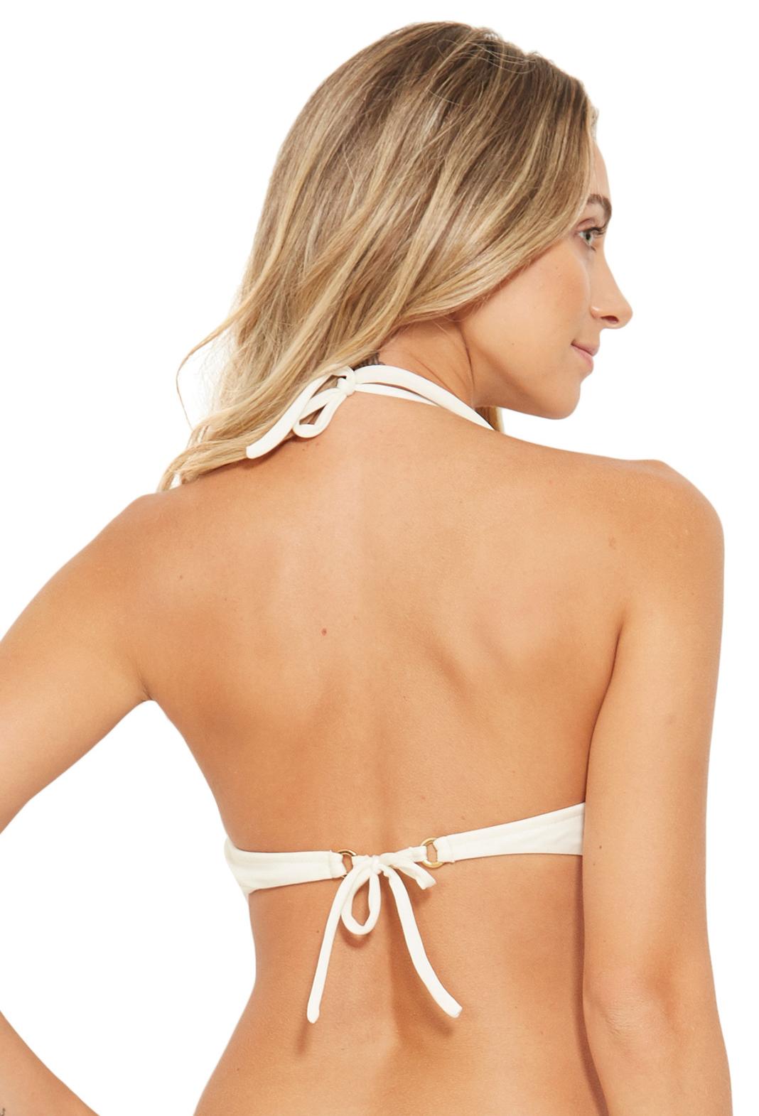a9279e77b32 Bikini Tops Bra Bikini Top With Twisted Effect - Top Areal Cru Perola