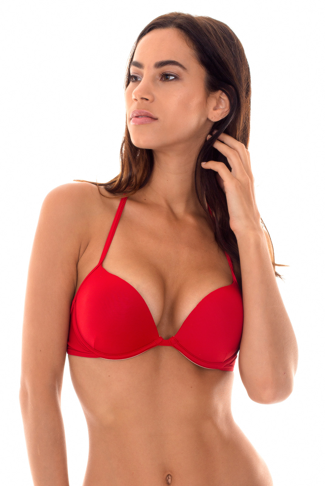 red bikini top ddcup could