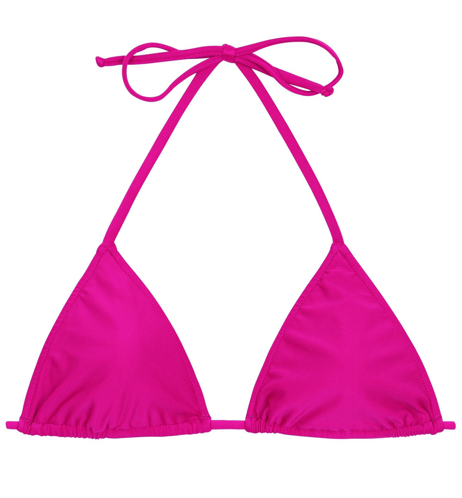 4756a647c0 Bikini Tops Pink Fuchsia Triangle Bikini Top - Top Amaranto Lacinho