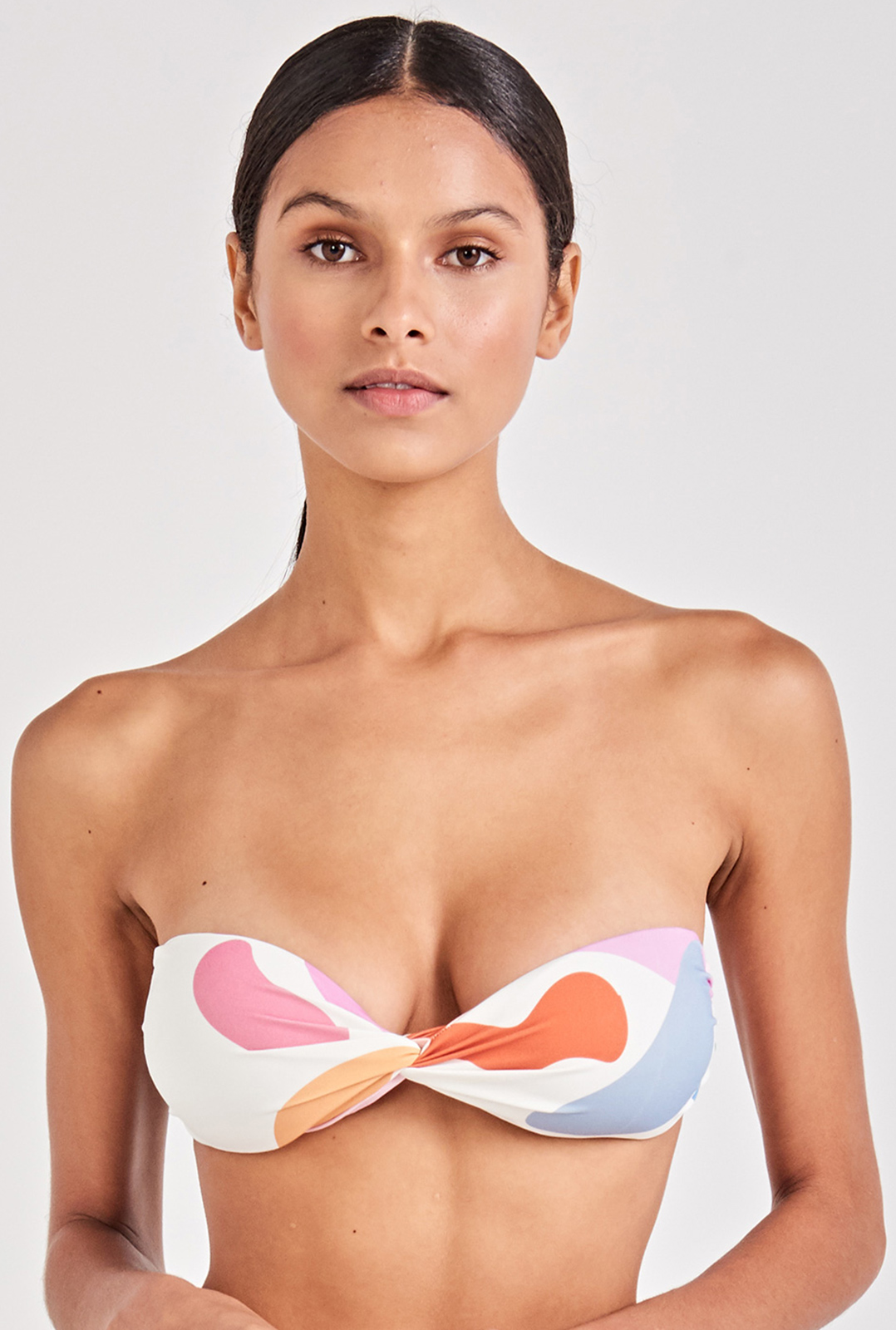 6b7f79453c582 Bikini Tops Colorful Bandeau Bikini Top - Top Alegria Artsy